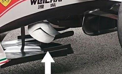 Gp Messico: ecco la nuova bat wing della Ferrari
