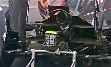 Gp Messico: McLaren con cofano posteriore allargato - GP MESSICO: McLaren con cofano posteriore allargato