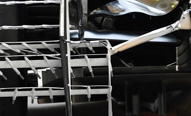 Gp Brasile: la Mercedes simula l'aerodinamica 2017