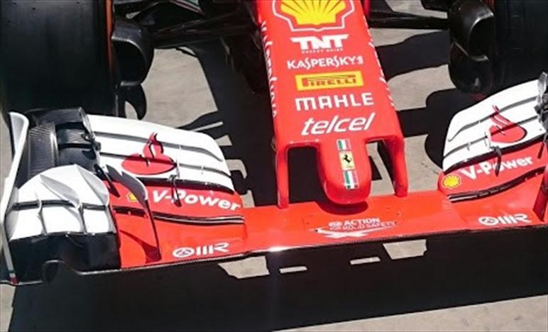 Gp Brasile: la configurazione aerodinamica della Ferrari SF16-H