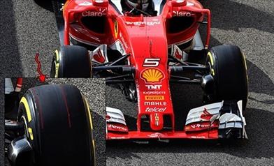 Tecnica: il camber sulle Pirelli della Ferrari SF16-H