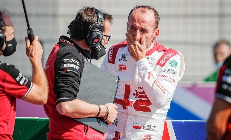 Alfa Romeo: Kubica sostituirà Raikkonen anche in Italia
