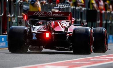 Alfa Romeo subito a punti, buon inizio con un po' di sfortuna