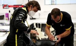 Alonso di nuovo in pista