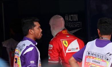 Analisi gara: Vettel è partito a 5 cilindri e con 140 CV in meno