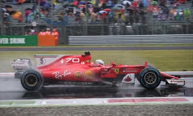 Analisi qualifiche: Full Wet di marmo per le Ferrari SF70H di Monza