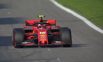 Ancora Ferrari, ancora Leclerc Pole position in Russia