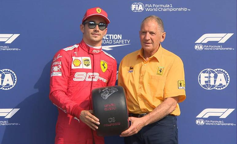 Ancora Leclerc. Pole in Italia, ma che confusione
