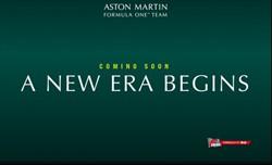 Aston Martin: a febbraio la presentazione della nuova livrea