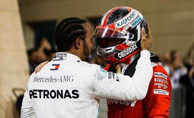 BAHRAIN GP - HAMILTON: Leclerc è stato fantastico questo fine settimana