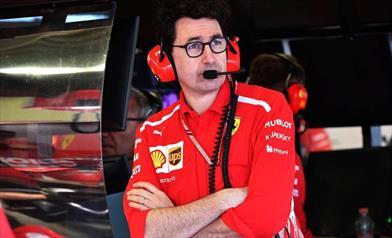 Binotto afferma che il potenziale della Ferrari è superiore