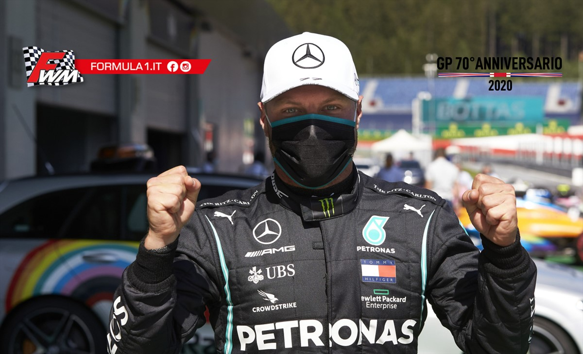 Bottas: la pole merito dell'analisi dei dati