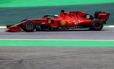 Brasile: Vettel ottimista per la gara, delusione per Leclerc