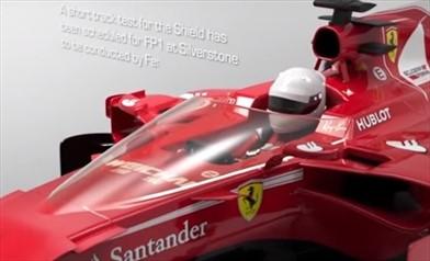 Con Shield servono i vecchi specchietti retrovisori sulla Ferrari SF70H