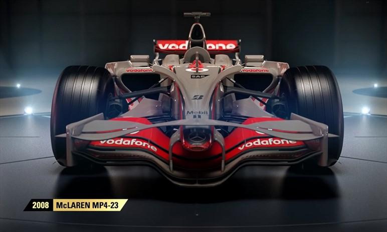 F1 2017 conterrà quattro storiche McLaren