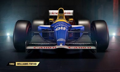 F1 2017 presenta due auto classiche Williams