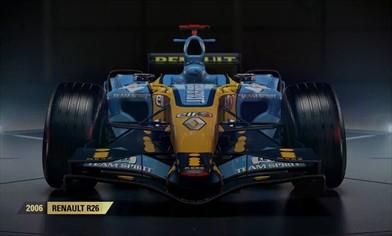 F1 2017 presenta la Renault di Alonso vincitrice del mondiale 2006