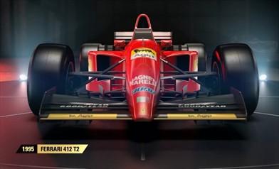 F1 2017 presenta le quattro Ferrari storiche