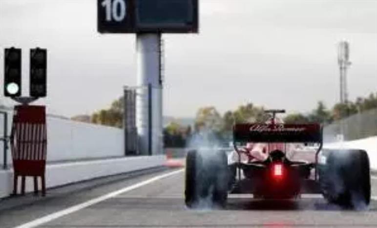 F1, prima giornata di test