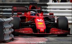 Ferrari: nessun danno grave al cambio della SF21 di Leclerc