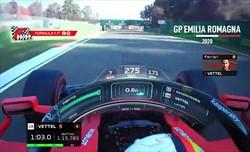 Ferrari tante ombre ad Imola, e il team radio di Vettel è incredibile