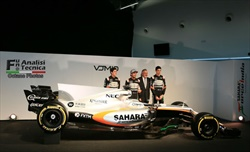 FORCE INDIA VJM10: l'analisi tecnica