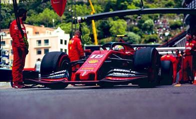 FP3 Monaco: Ferrari fra tegole e acuti