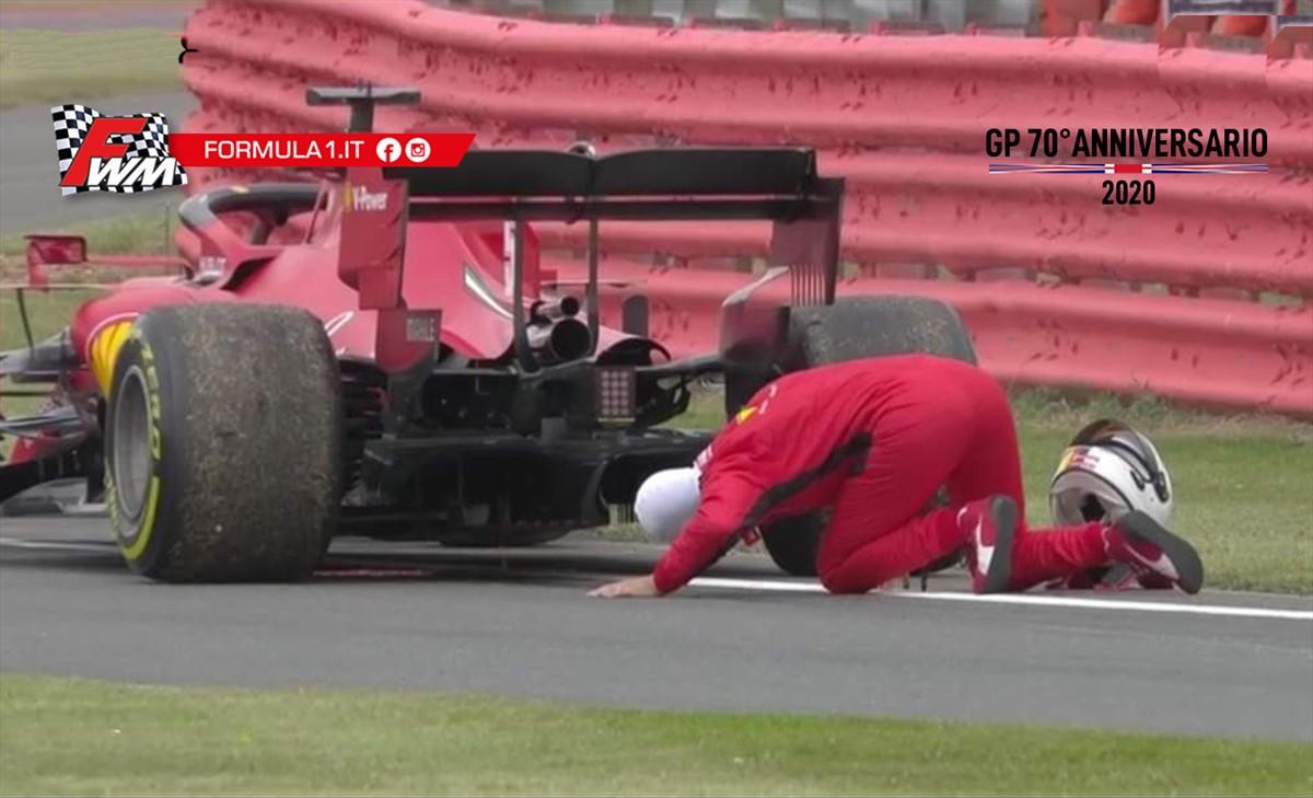 GP 70° Anniversario, prove libere: Mercedes detta il passo, Ferrari perde olio