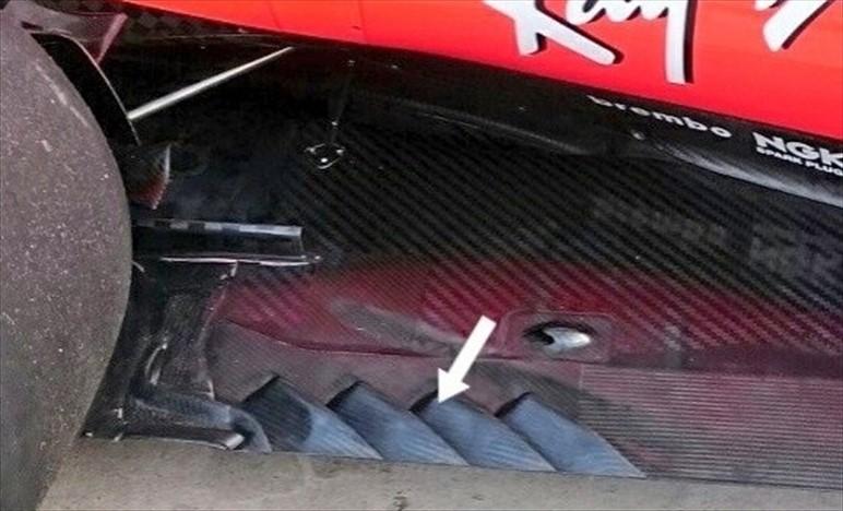 Gp Austin: Ferrari modifica il fondo della SF70H