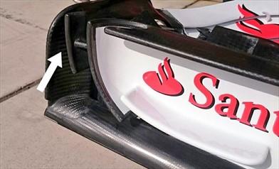 Gp Austin: novità sull'ala anteriore della Ferrari SF70H