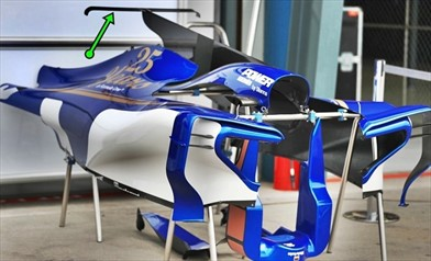 GP AUSTRALIA: debutta la T Wing anche sulla Sauber C36 - GP AUSTRALIA: debutta la T Wing anche sulla Sauber C36