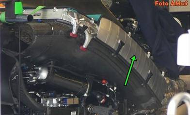 GP AUSTRALIA: è ancora aria - aria l'intercooler della Mclaren MCL32 - GP AUSTRALIA: è ancora aria - aria l'intercooler della Mclaren MCL32