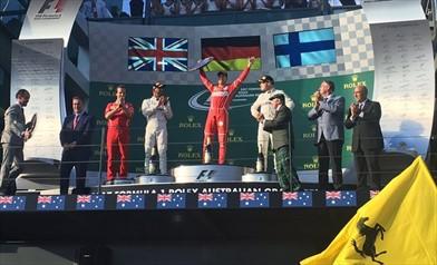 Gp Australia: grandissimo Vettel la Ferrari torna alla vittoria