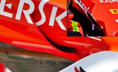 GP AUSTRALIA: i condotti del S-Duct Ferrari sono incrociati