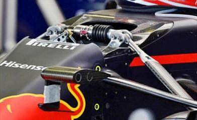 GP AUSTRALIA: la RedBull RB13 non ha uno scalino pronunciato nella parte anteriore del telaio