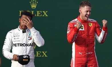 GP AUSTRALIA - MOMENTO CLOU: ecco dove Vettel ha vinto il Gran Premio di Australia