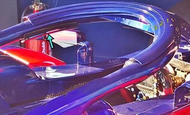 GP AUSTRALIA - TORO ROSSO STR13: è evoluta l'aerodinamica attorno all'Halo