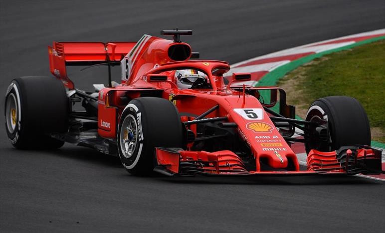 Australia 2018 Formula 1 Vettel Video