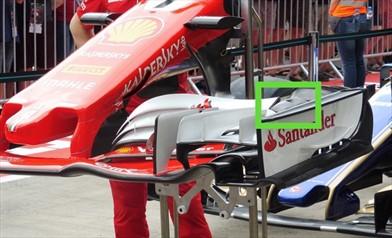Gp Austria: una nuova ala anteriore per la Ferrari SF70H