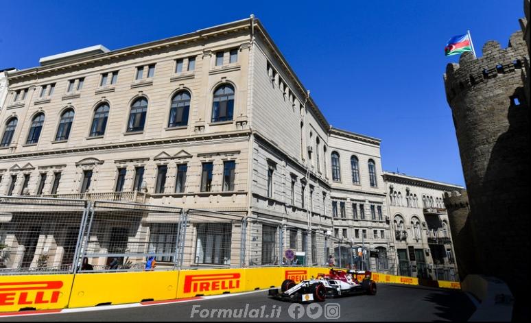Gp Azerbaijan - Alfa Romeo, a Baku per far meglio di Monaco