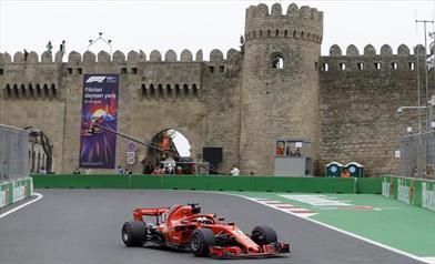 Gp Azerbaijan: La pole è di Vettel