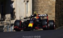 Gp Azerbaijan - Prove libere - Perez davanti a Verstappen per un 1-2 Red Bull
