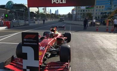 Gp Azerbaijan - Qualifiche - Tra mille emozioni in pole c'è Leclerc