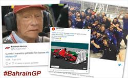Gp Bahrain 2018 - Il week-end visto dai social network - Gp Bahrain 2018 - Il week-end visto dai social network