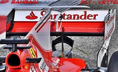 Gp Bahrain: Ferrari con la soluzione inedita del doppio monkey seat