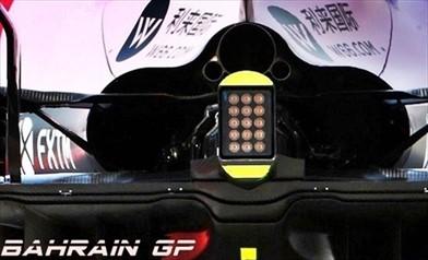 Gp Bahrain: la Force India apre il cofano motore