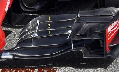 Gp Bahrain: la Haas ha testato una nuova ala anteriore