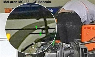 GP BAHRAIN - McLAREN MCL33: introdotta la propria versione di Deck Wing