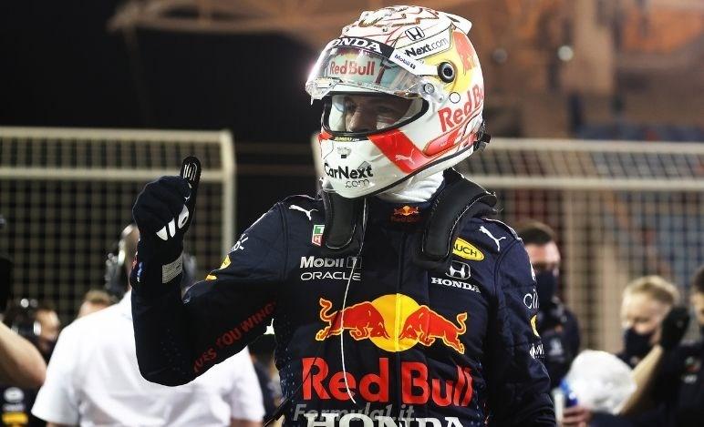 Gp Bahrain - Qualifiche - Verstappen in pole