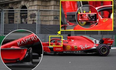GP BAKU - FERRARI SF71H: confermati i nuovi aggiornamenti sulle vetture di Vettel e Raikkonen